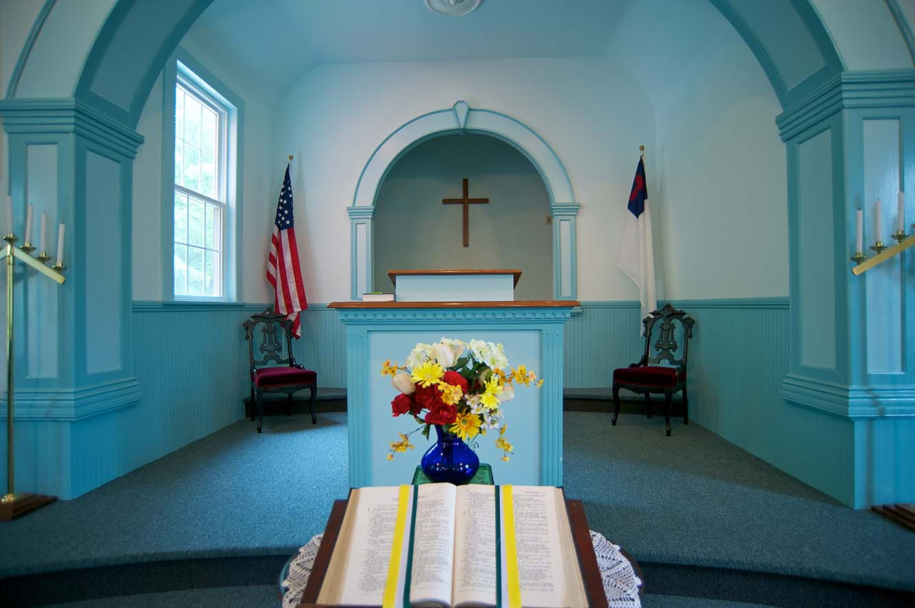 Troy Baptist Church Inside 1